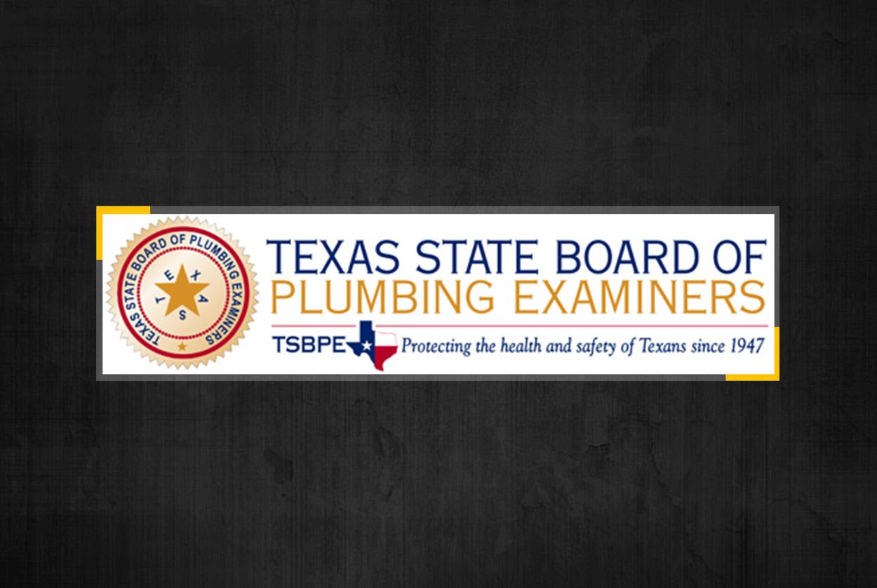 Texas Plumbing Board and Laws Abolished After Legislative Strife